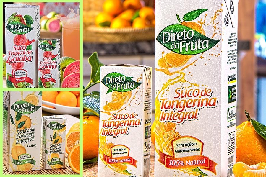 Direto da Fruta - embalagens
