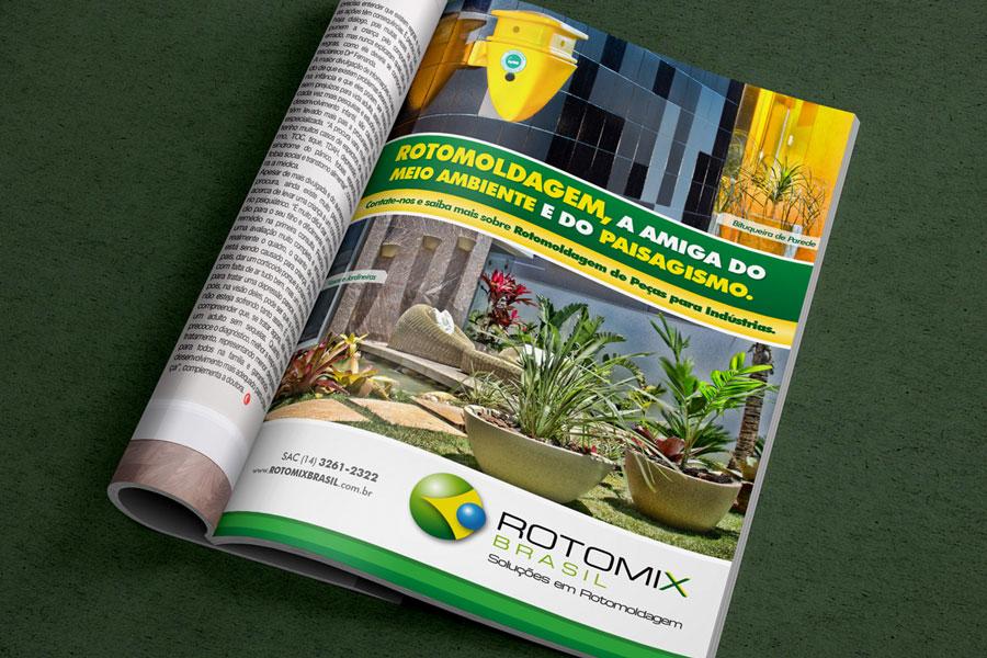 Rotomix Anúncio Revista Plástico Moderno