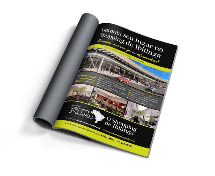 Shopping de Ibitinga - Anúncio Revista