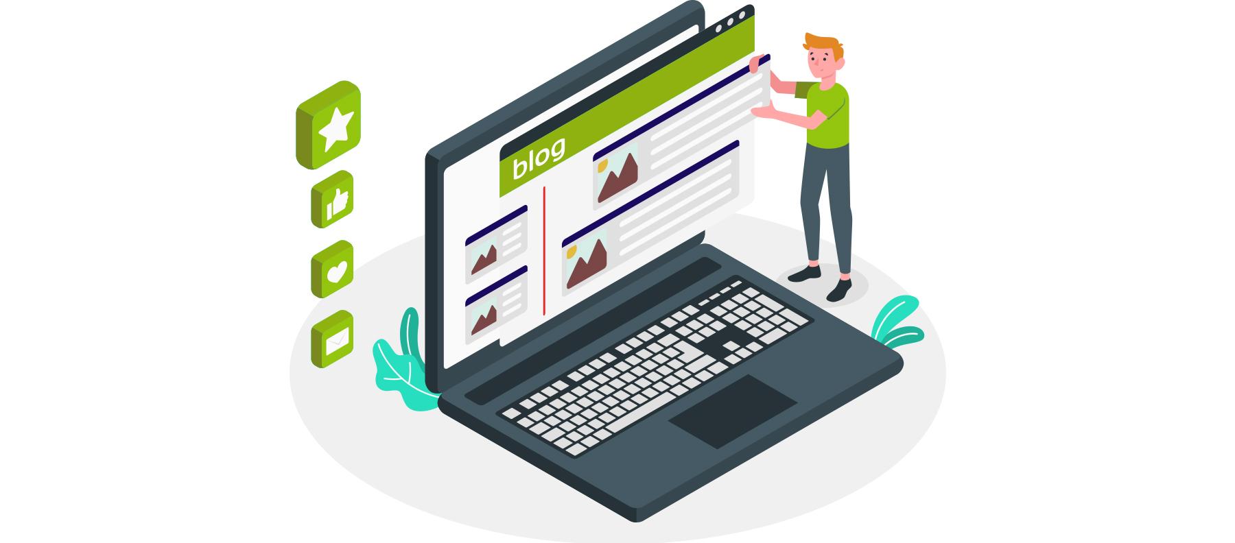 como o blog impacta o seu negócio